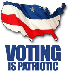 DON'T FORGET TO VOTE TUESDAY NOVEMBER 6,2012:-)