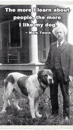Mark Twain makes a legit point