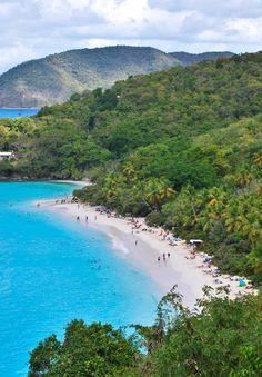 Trunk Bay - St. John, US Virgin Islands