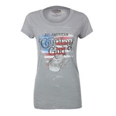Country Girl Women's All American Short Sleeve Tee