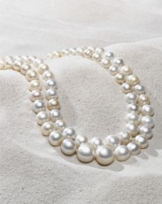 A strand of rare pearls
