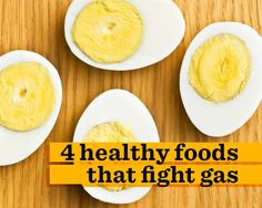 4 Healthy Foods That Fight Gas