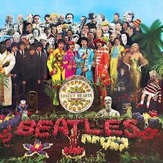 The Beatles: St.Pepper Lonely Hearts Club, cover by Peter Blake