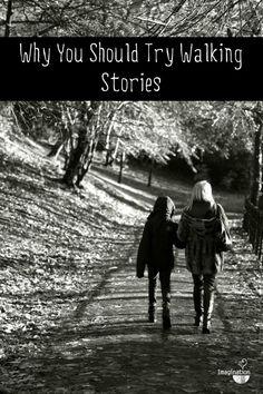 family walks + storytelling = walking stories