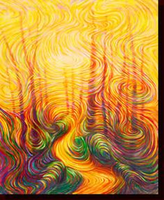 wow! absolutely stunning use of movement in julia watkins' energy art