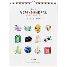 Gem & Mineral 2015 Calendar