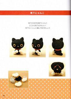 Blog de Goanna: Patrón Amigurumi Gato Negro