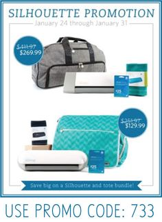 Silhouette Rolling Tote Promotion