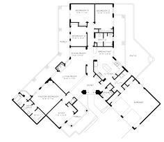 House plans on pinterest floor plans house plans and for T shaped ranch house plans