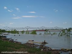 Ohio River at Cairo, Illinois.