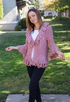 Mohair de suéter de ganchillo / lana de encaje con por 4KidsAndMore