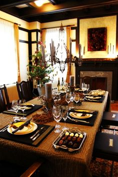mettre la table on pinterest dinner parties table. Black Bedroom Furniture Sets. Home Design Ideas