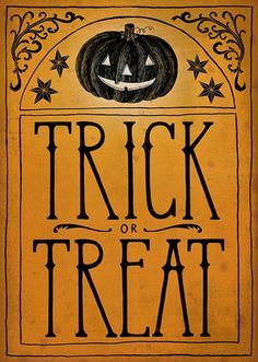 Vintage+Halloween+Trick+or+Treat