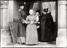 A 102 year old woman voting for the first time in 1916.