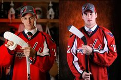 Filip Forsberg and Thomas Wilson - The Capitals' First Round Draft Picks