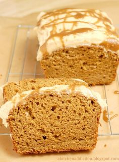 Buttercream pumpkin bread & other pumpkin dessert recipes. I've pinned most of them below!  Here in Australia, pumpkin is a great unsung hero of desserts. And we even have REAL PUMPKINS! (I believe in USA they only come in cans?)