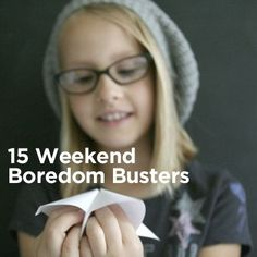 15 fun activities for kids to try on the weekend