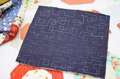 more square quilting