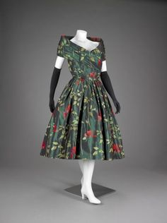 So auntie Joyce christians, floral prints, envelopes, christian dior, art, collars, cocktail dresses, cocktails, 1950s fashion
