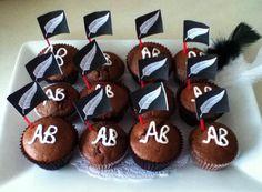 All Blacks Cupcakes!