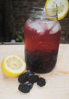 Black & Blue Infused Vodka Cocktail