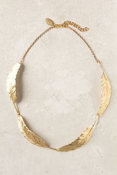 Four Wings Necklace #anthropologie
