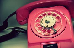 Old telephone love