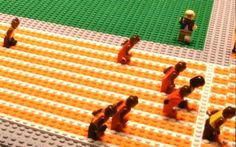 Watch Usain Bolt win the gold -- as depicted in LEGO. #London2012 #allgoodthings #danish spotted by @missdesignsays