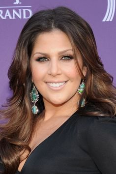 Hillary Scott of Lady Antebellum on the Red Carpet of the 2012 ACM's