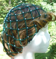 Crochet Hair Bun Covers and Snoods – free patterns