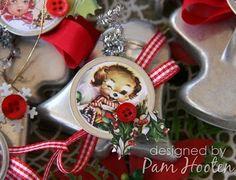 Iris Garden: Vintage Christmas Cookie Cutter Ornaments ~ Crafty Secrets