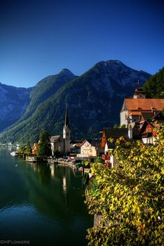 ~Hallstatt, Austria~  #austria  #hallstatt