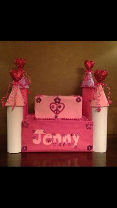 Castle valentine's day box.