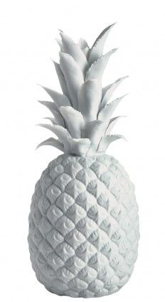 why yes i think i need a white porcelain pineapple