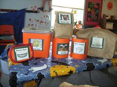 Love this idea for the Kindergarten's Halloween party!
