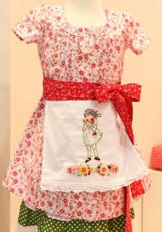Sarah Jane fabrics and embroidery patterns!  So cute!
