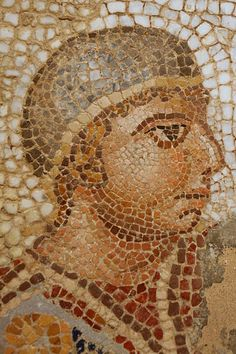 Circus mosaic detail, ca. 4th century AD/CE
