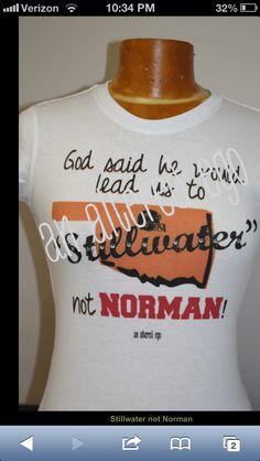 Oklahoma State University vs. University of Oklahoma Bedlam Shirt
