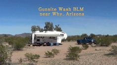 Gunsite Wash Free BLM 14 day camping near Why, Arizona - http://rvhappyhour.com/groups/boondockers/forum/ #BLM #Camping #Arizona