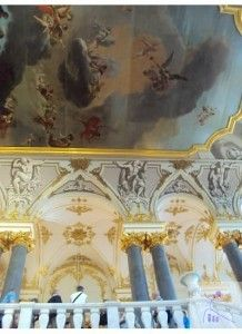 Traveling to St. Petersburg, Russia with a baby and toddler--The Hermitage