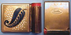 Yardley Vintage Compact/Lipstick