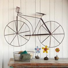 bicycle wall art.