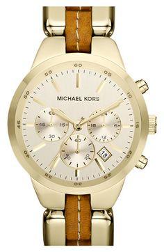 Michael Kors 'Showstopper' Chronograph Bracelet Watch   Nordstrom