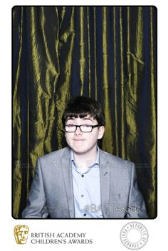 Britain's Got Talent runner-up, comedian Jack Carroll arrives at the BAFTA TwitterBox straight from the Children's Awards ceremony podium