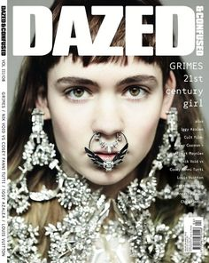 Grimes by Hedi Slimane for Dazed and Confused.