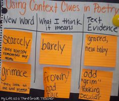 Context Clues  My Life as a Third Grade Teacher