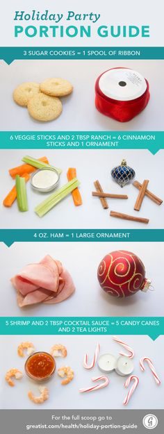 Holiday Party Portion Guide