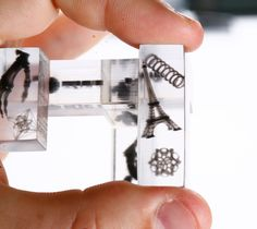 3D printed multi-material puzzle piece - and the top 10 models of 2012