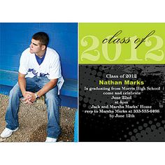 Add your Senior Picture to this photo card! senior pictur, photo card