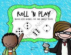 Year Long Roll N Play Dice Games Giveaway!! Enter for your chance to win 1 of 5.  Year Long Roll n Play Dice Games (26 pages) from Lovin' Kinder on TeachersNotebook.com (Ends on on 9-26-2014)  Enter to win a year long collection of dice games from Lovin' Kinder!  These are great for Math centers, free choice activities or morning wake-up work!